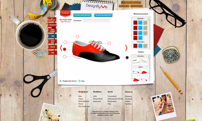 e-shop website project - screen 6
