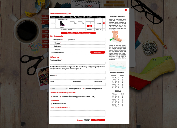 e-shop website project - screen 9
