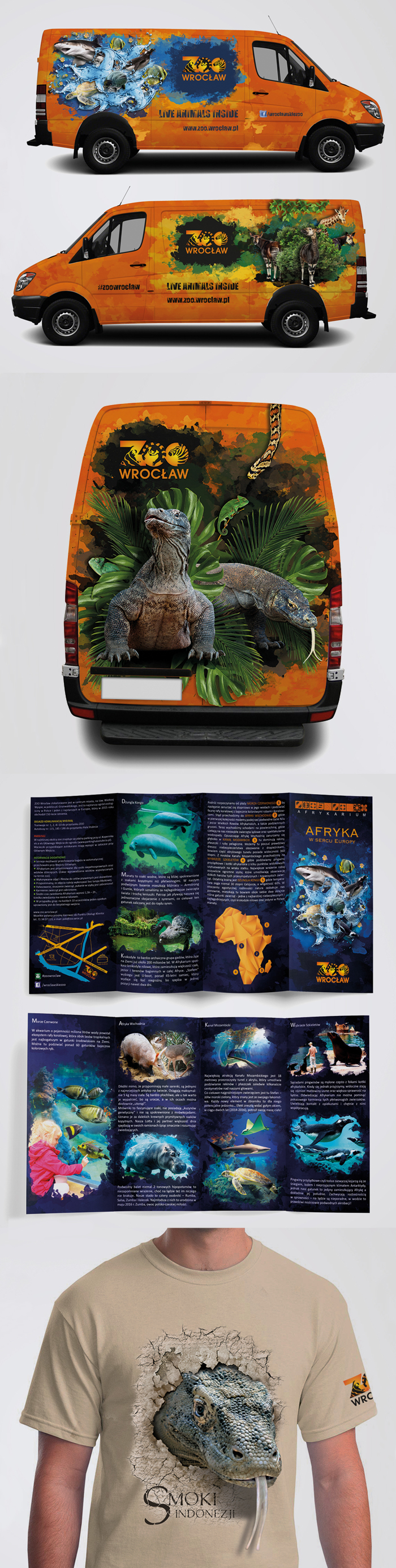 Promotional materials for Wroclaw ZOO - screen 1